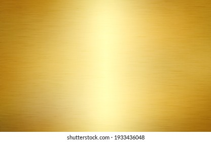 Gold background. Golden texture metal. Shining steel with realistic effect. Foil design with light flare for advertising or web. Vector illustration.
