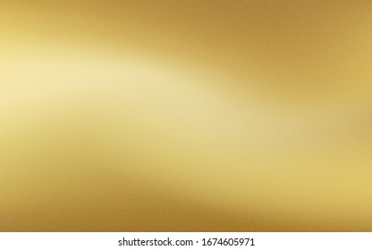 Gold background with paper texture wall. Vector illustration. Eps10