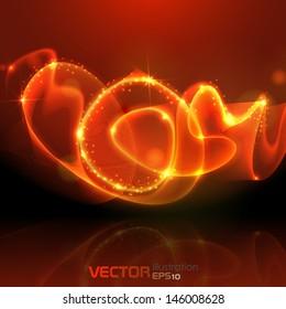 Gold background. Vector illustration. Eps 10.