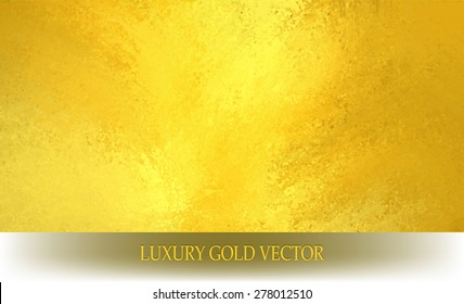 gold background vector image, solid gold texture