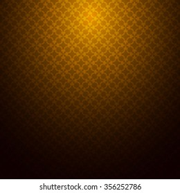 gold brown pattern texture background abstract wall vector