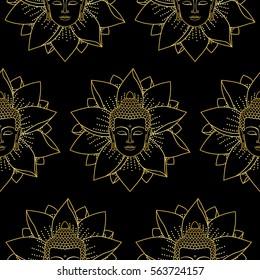 Buddha Wallpaper Stock Vectors Images Vector Art Shutterstock
