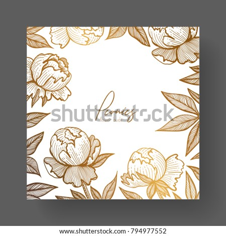 gold cards templates invitations backgrounds quotes stock vector