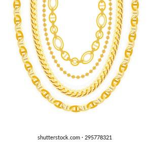 d5f8d317628 Gold Chain Images, Stock Photos & Vectors | Shutterstock