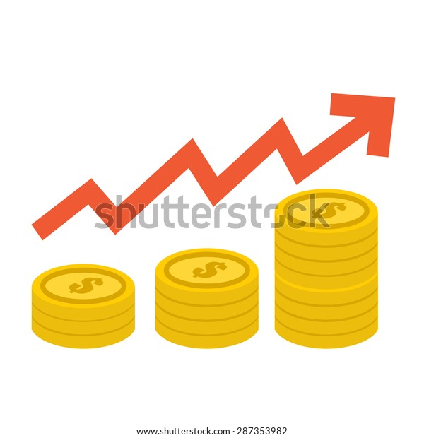 gold coin graph up