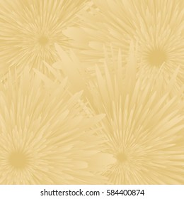 gold color flower background. vector illustration. for wallpaper, card, invitation