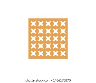 gold cross x stripped steel plate pattern