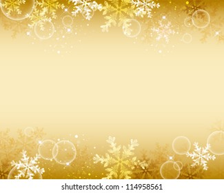 gold crystal shines background