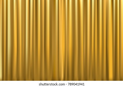 gold curtain background