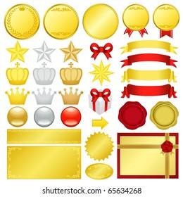 gold decoration