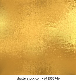 Gold foil texture, Vector background
