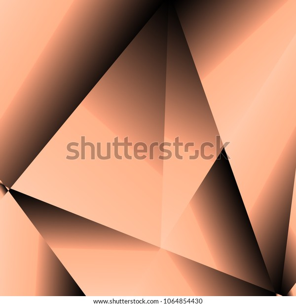 gold fractal luxury background peach black stock vector royalty free 1064854430 shutterstock