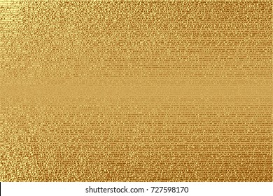 Gold, glitter abstract background. Cool pattern. Patina golden elements. . Sparkles background. Creative invitation for new year, wedding, birthday. Trendy modern vector illustration