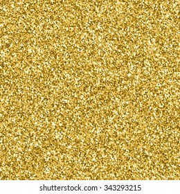 Gold glitter texture.  Design element. Vector illustration,eps 10.