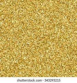 Gold glitter texture.  Design element. Vector illustration,eps 10.