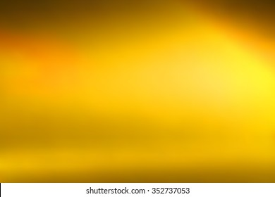 Gold gradient background abstract pattern light element decoration color bright yellow