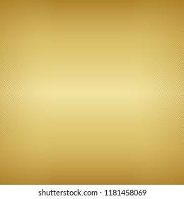 Gold gradient texture background. ( vector )