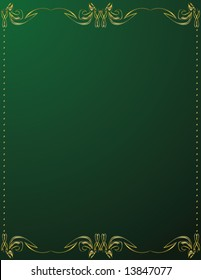 Gold and green background 6