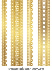 gold lace