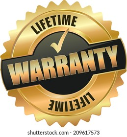 gold life time  warranty