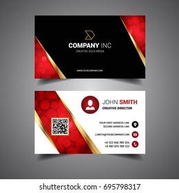 Gold Light Business Card