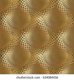 Golden Wallpaper 3d Images Stock Photos Vectors