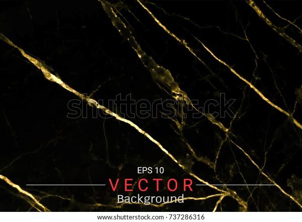 Image Vectorielle De Stock De Marbre Doré Motif Vectoriel