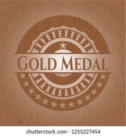 Gold Medal wood signboards