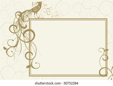 gold ornate bird