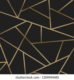 Gold spider web background - vector