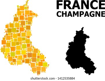 Champagne Region Map France Images, Stock Photos & Vectors ... on