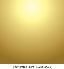 Gold sun gradient texture background in square illustration in vector.