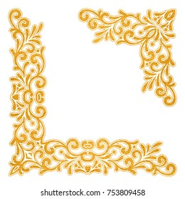 Royalty Free Gold Corner Images Stock Photos Vectors Shutterstock