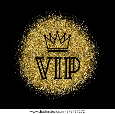 Gold VIP Logo Line Style Vector 스톡 벡터(사용료 없음) 378767272 ...
