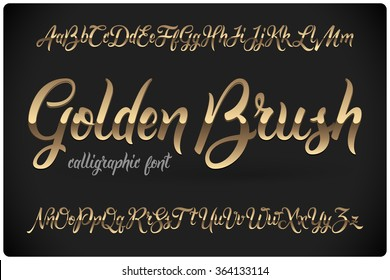 Calligraphy Font Images, Stock Photos & Vectors | Shutterstock