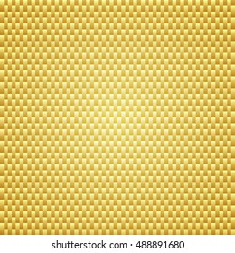 Golden carbon kevlar texture background