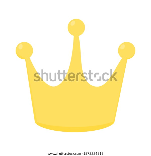 Golden Cartoon Crown Isolated On White Stock Vector Royalty Free 1572226513 Lovepik provides 290000+ cartoon crown photos in hd resolution that updates everyday, you can free download for both personal and commerical use. shutterstock