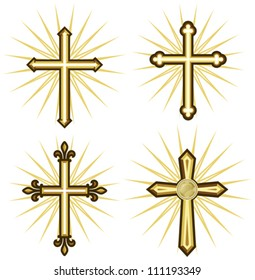 Golden cross collection
