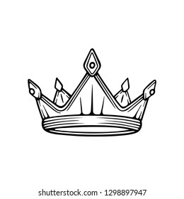 Crown Sketch Images Stock Photos Vectors Shutterstock See more ideas about flower crown drawing, crown drawing, drawings. https www shutterstock com image vector golden crown king hand drawn vector 1298897947