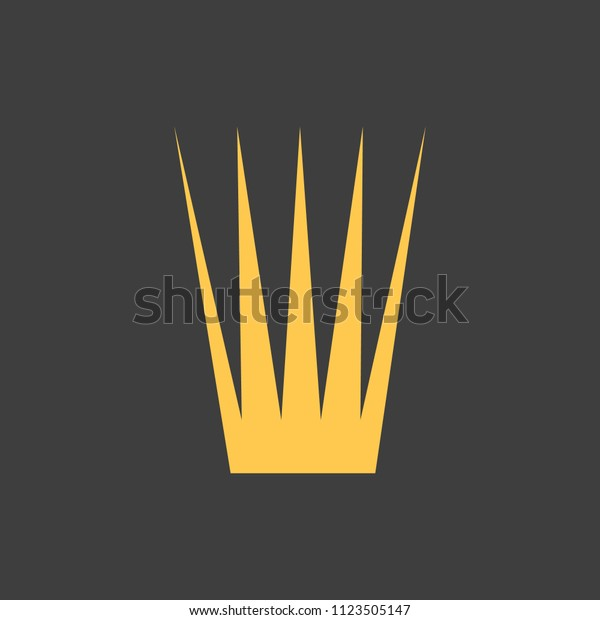 Golden Crown On Black Background Vector Stock Vector Royalty Free 1123505147 Pin amazing png images that you like. shutterstock