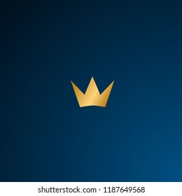 golden crown symbol has mean beauty, strong, vision, brave. it can use for adventure, business, logo company.