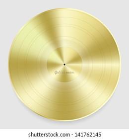 Golden disc vector