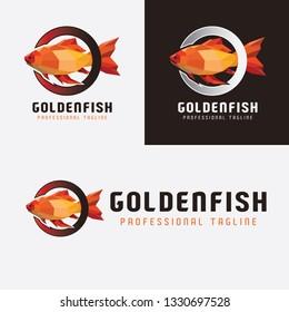 Golden Fish Logo