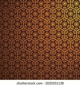 Golden Floral Ornament Pattern Decorat Background Vector Stock Image Download.