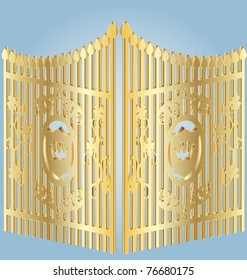 Gold Gate Images Stock Photos Amp Vectors Shutterstock