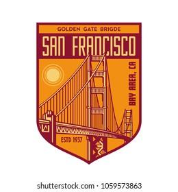golden gate patch logo