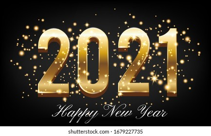 happy new year 2021 images stock photos vectors shutterstock https www shutterstock com image vector golden happy new year 2021 burst 1679227735