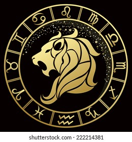 Leo Zodiac Tattoo Images Stock Photos Vectors Shutterstock