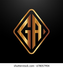 Ga Logo Images, Stock Photos & Vectors | Shutterstock