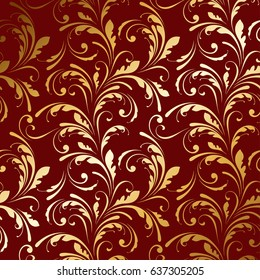 Golden ornament. Luxury background. Decorative pattern.
